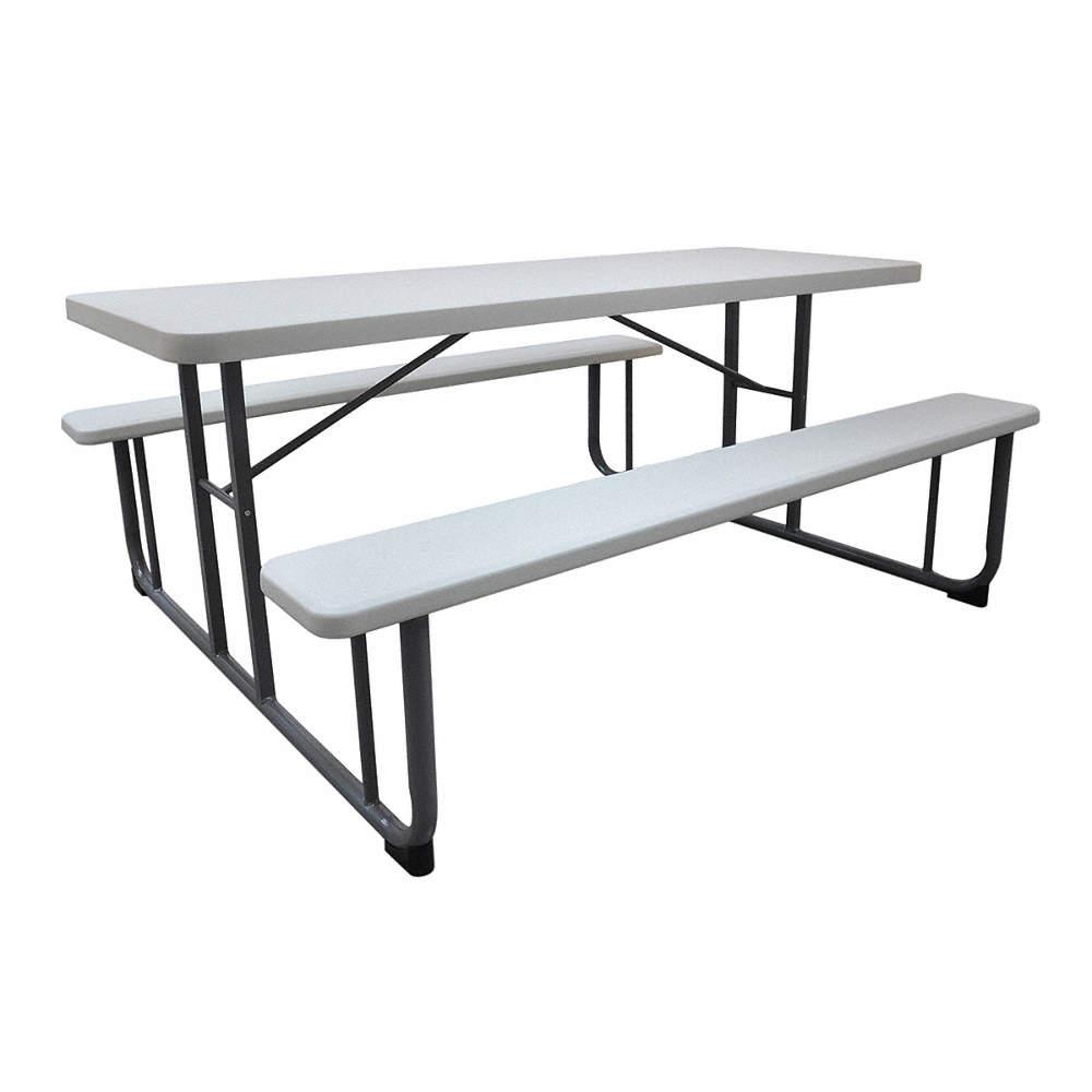 Rectangle Plastic Picnic Table