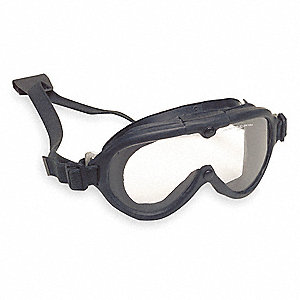 Anti-Fog, Scratch-Resistant OTG Goggles, Clear Lens Color