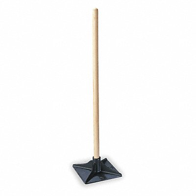 1MDW6 - Dirt Tamper 10x10 In Blade 42 In Handle