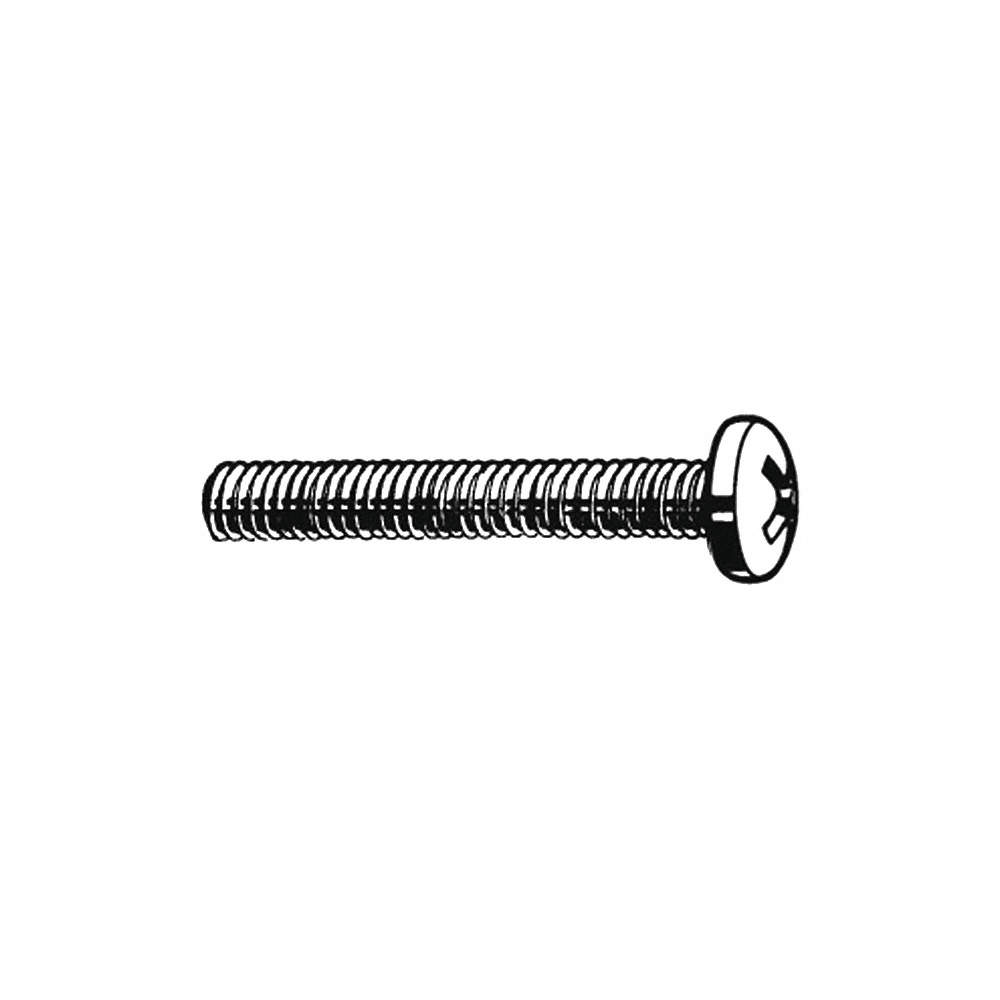 """2-56 x 3//16/"""" Phillips Truss Head Machine Screws Stainless Steel 18-8 Qty 100"""