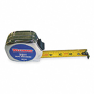 Steel 25 ft. SAE Tape Measure