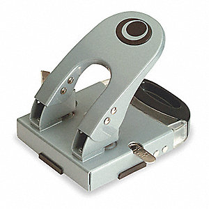 Two-Hole Paper Punch, Silver