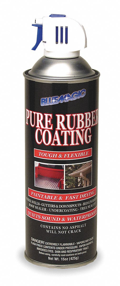 Black Rubberized Undercoating, 15 oz Container Size