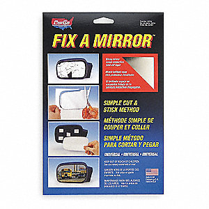 Mirror Repair Kit,Silver