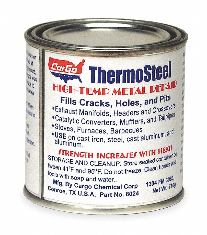 Metal Repair, High Temp, Dark Gray, 24 Oz