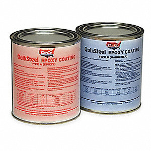 Epoxy Coating/Hardener,Dark Gray,32 oz.