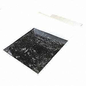 "Rubber Sheet,Buna-N,1""Thick,24""x12"",40A"