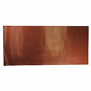 "SBR Rubber Sheet, 12""W x 3 ft.L x 3/32""Thick, 70A, Plain Backing Type, 150% Elongation, Red"