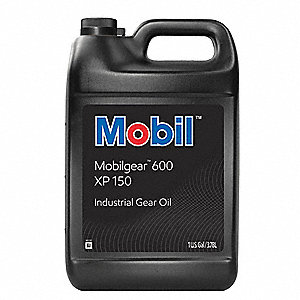 Mobilgear 600 XP 150, Gear Oil, 1 gal