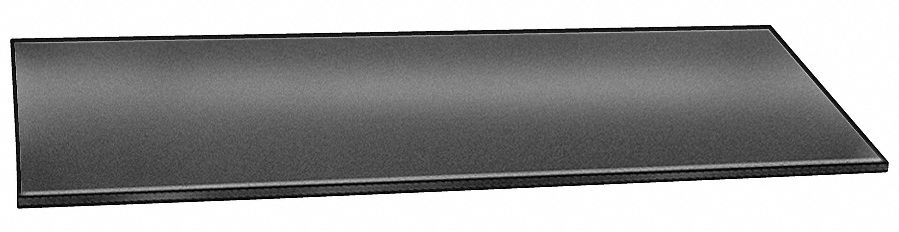 Plate Stock,  430,  Stainless Steel,  Thickness 0.025 in,  Width 0.5 in,  Length 1 ft