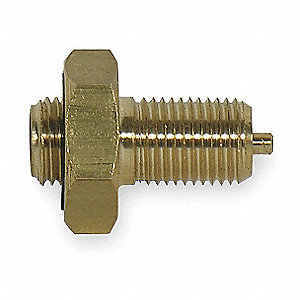 Male Lge Bore V Adptr,0.305-32,Brs,PK5