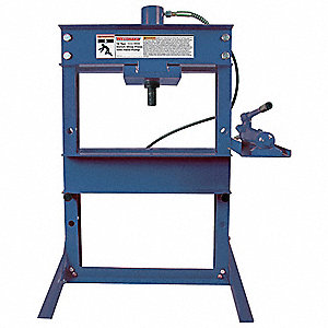 Hydraulic Bench Shop Press,12 Tons