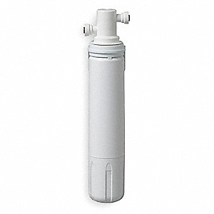 "1/4"" Push Connect Polypropylene Water Filter System, 0.75 gpm, 125 psi"
