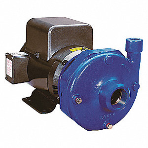 Cast Iron 7-1/2 HP Centrifugal Pump, 208-230/460VAC Voltage, 21.4-20.4/10.2 Amps
