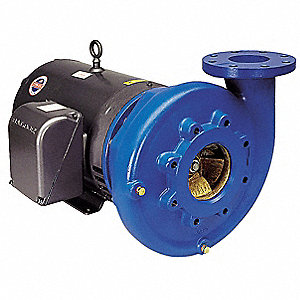 Cast Iron 15 HP Centrifugal Pump, 208-230/460VAC Voltage, 37.5-34/17 Amps
