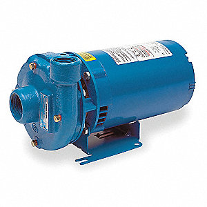 Cast Iron 3/4 HP Centrifugal Pump, 1 Phase, 115/230VAC Voltage