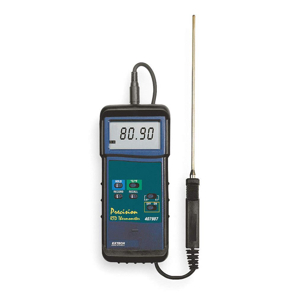 Extech Termometro Resistencia Pantalla Lcd Termometros 1nd72 407908 Grainger Mexico Sabemos que una corriente eléctrica es un flujo de electrones. resistencia pantalla lcd