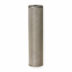 "150 Micron Rating Filter Cartridge, 2-1/2"" Diameter, 9-7/8"" Height, 10.00 gpm"