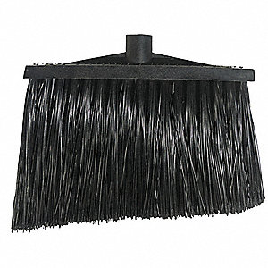 "Synthetic Angle Broom, 9"" Sweep Face"