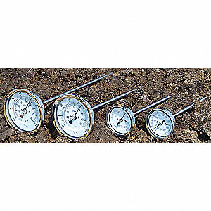 Bimetal Thermom,2 In Dial,-20 to 120F