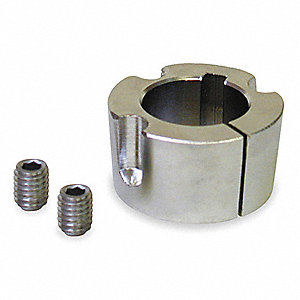 "Taper-Lock Bushing, 3020 Series, 2-1/2"" Bore Dia., 2.000"" Length"