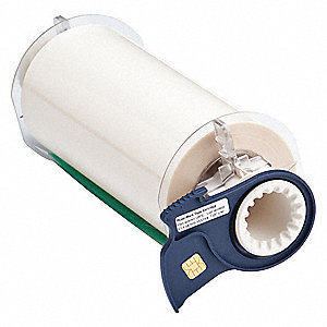 "Outdoor Polyester Label Tape Cartridge, Clear, 7""W x 50 ft."