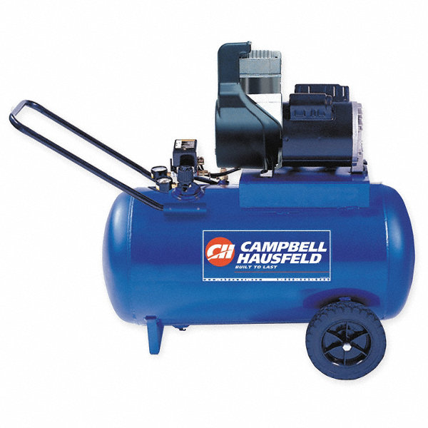 Campbell hausfeld 1 8 hp 115vac 20 gal portable for 1 5 hp 120v electric motor
