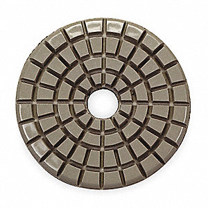 Stone Polishing Pad,3 In,Gray,PK5