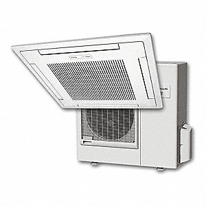 Split System Heat Pump,Ceiling, 230/208 Voltage, 24,000 BtuH Cooling