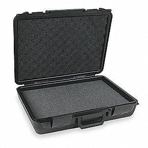 Case,20 In Lx15 In Wx5-1/2 In D,Black