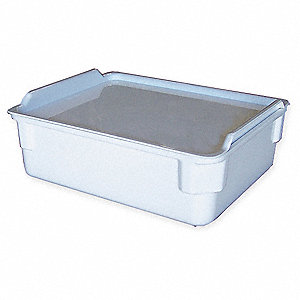 Nesting Container,11 3/8 In L,150 Lb