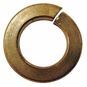 Split Lock Washer,3/4,Si Bronze,PK10