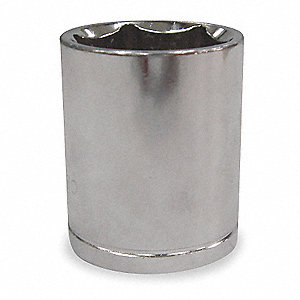 "32mm Chrome Vanadium Socket with 1/2"" Drive Size and Chrome Finish"