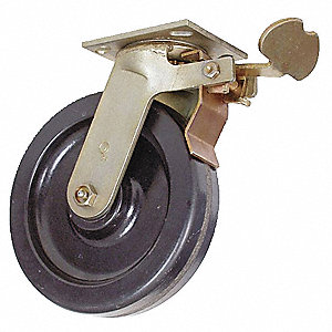 "5"" Medium-Duty Swivel Plate Caster, 1000 lb. Load Rating"