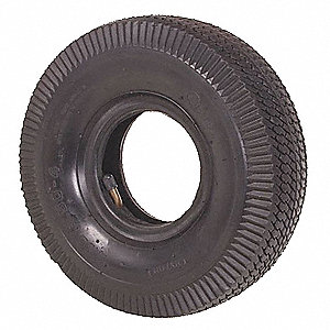 Replacement Tire/Tube,10 x 3.5 in