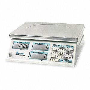 30kg/60 lb. Digital LCD Compact Bench Scale