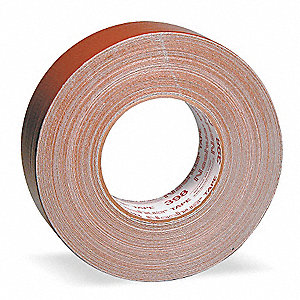 Industrial Duct Tape, 48mm X 55m, 11.00 mil Thick, Brown Coated Cloth, 1 EA