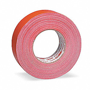 Industrial Duct Tape, 48mm X 55m, 11.00 mil Thick, Red Coated Cloth, 1 EA