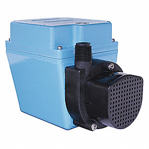 1/12 HP Compact Submersible Pump, 115V Voltage, Continuous Duty, 6 ft. Cord Length