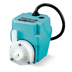 1/40 hp HP Compact Submersible Pump, 230V Voltage, Continuous Duty, 12 ft Cord Length