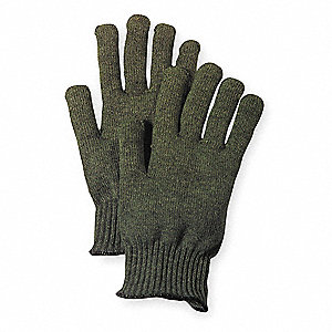 Heat Resistant Gloves, Carbtex Fiber, 600°F Max. Temp., Jumbo, PR 1
