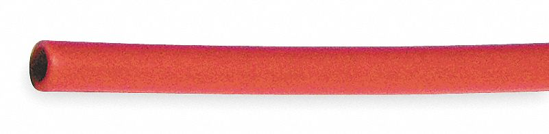 Red Tubing 200 PSI Poly 4mm 250 Ft