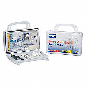 First Aid Kit, Kit, Plastic Case Material, Workplace, 10 People Served Per Kit