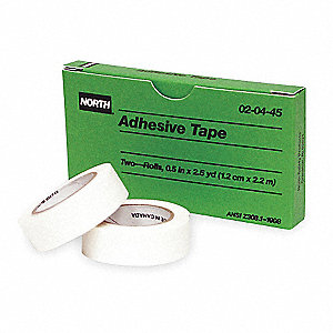 Tape,Adhesive,1/2 In x 2 1/2 Yd,PK2
