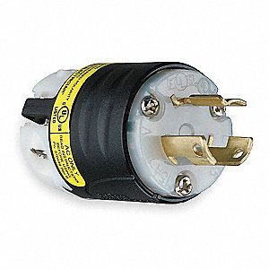Ground Continuity Monitoring Plug, 15 Amps, 250VAC Voltage, NEMA Configuration: L6-15P, Number of Po