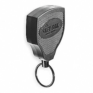 Key Reel,48 In,Kevlar(R) Cord,Belt Clip