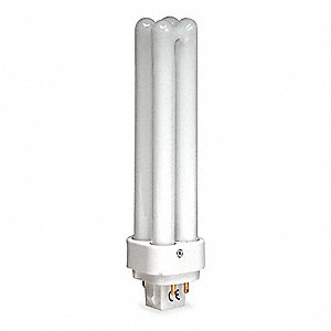 26 Watts Plug-In CFL, T4 PL, 4-Pin (G24Q-3), 1800 Lumens, 2700K Bulb Color Temp.