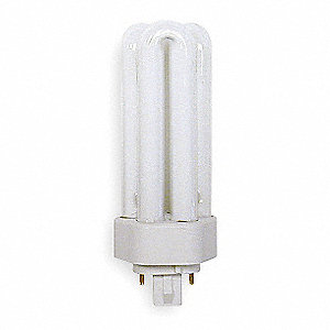"5-1/4"" Cool T4 PL Plug-In CFL, 26 Watts, 1800 Lumens"