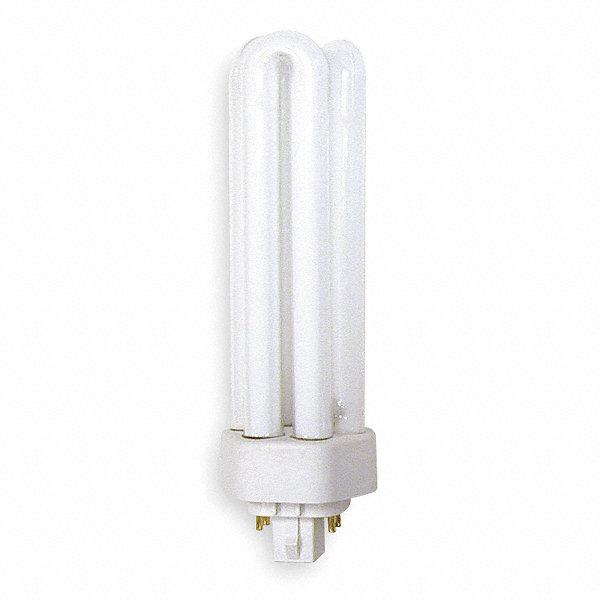 Fluorescent Light Lumens: GE LIGHTING 42 Watts Plug-In CFL, T4 PL, 4-Pin (GX24Q-4