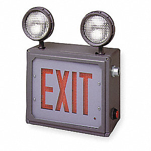 Emergency Lighting/Exit Sign,120/277V